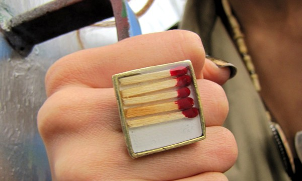 My matches ring is an inspiration to this blogger!